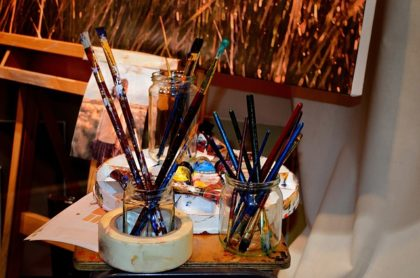 Art supplies cost a lot, pooling resources can be a real benefit.